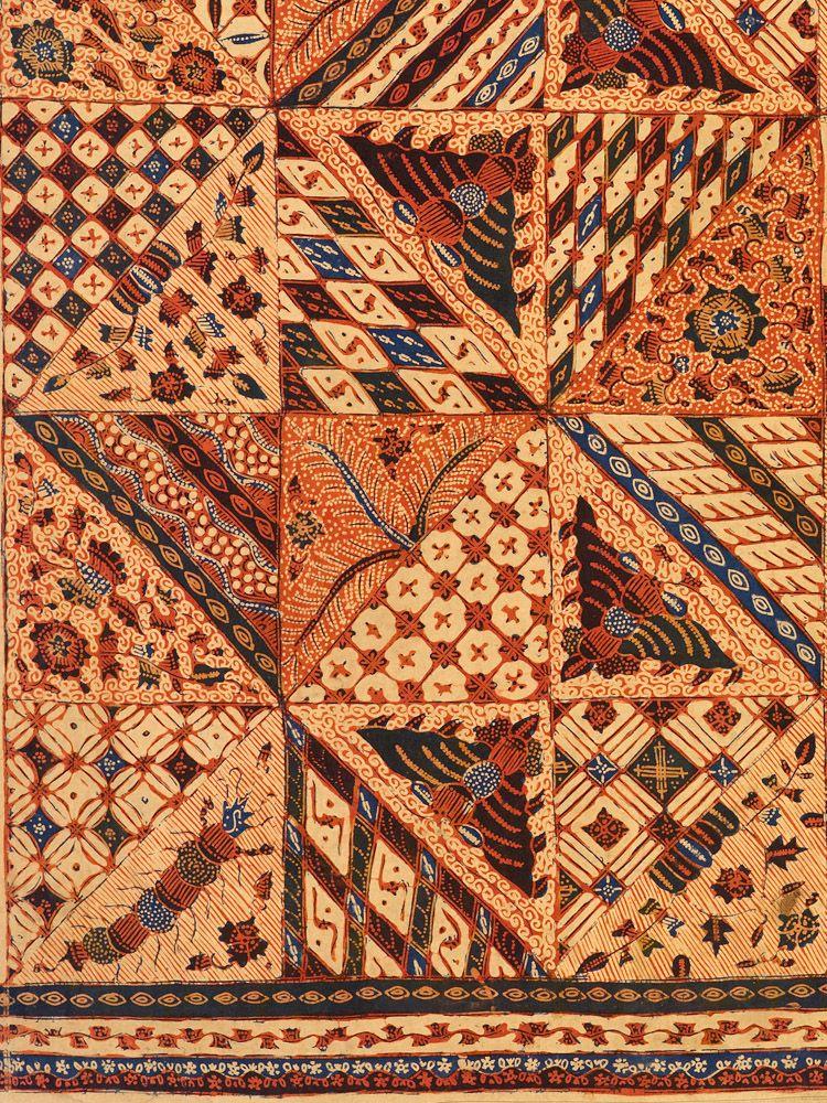 Batik With Rare Tambal Patchwork Motif